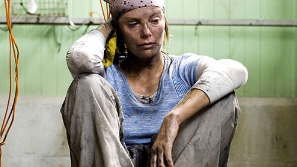 Charlize Theron in North Country 2005 Movie