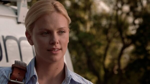 Charlize Theron in The Italian Job 2003 Movie