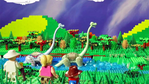 Jurassic Park Lego Fan Movie