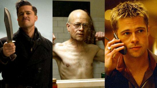 brad pitt best movies