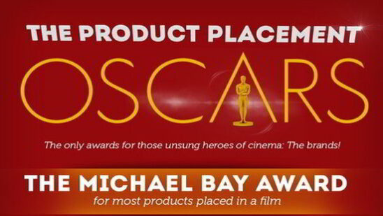 The Product Placements Oscars Infographic