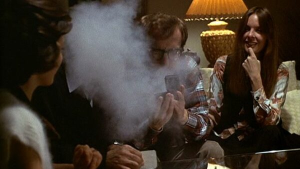 Sneezing Cocaine From Movie Annie Hall