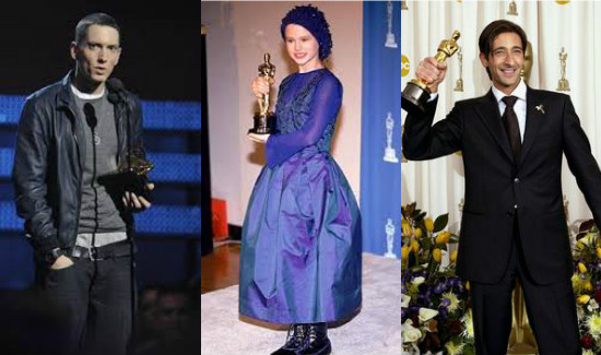 15 Most Unexpected Oscar Winners