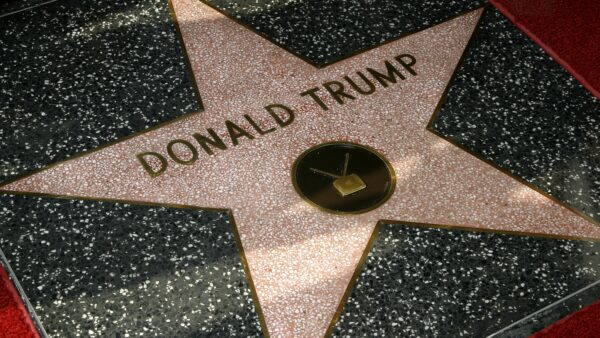 Donald Trump has a Star on Hollywood Walk of Fame