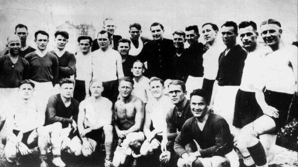 A Ukrainian soccer team was shot after they beat a Nazi team