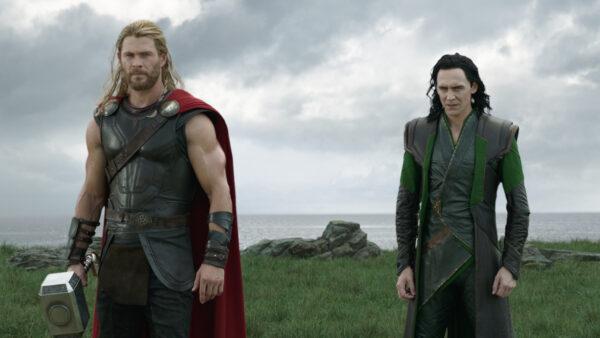 Thor Ragnarok Loki as Odin
