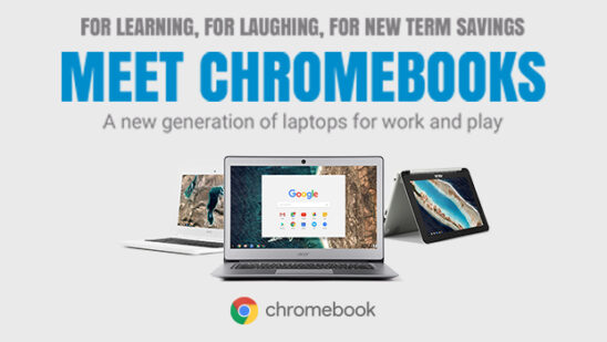 meet the chromebooks