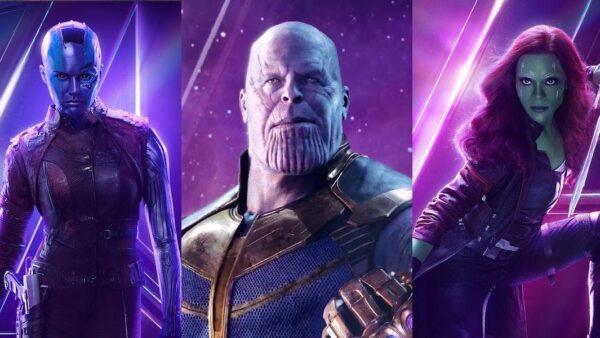 thanos and gamora avengers