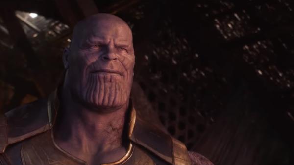 thanos smiling avengers infinity war ending