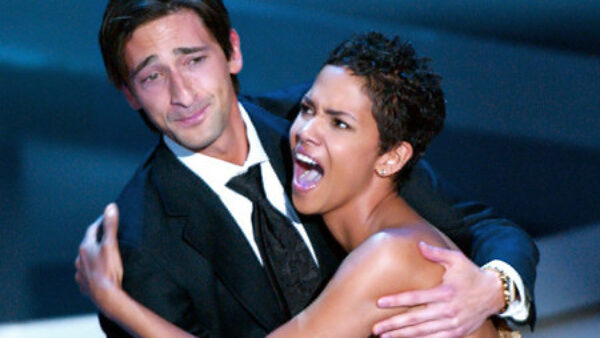 Adrien Brody Beats Competition, Kisses Halle Berry