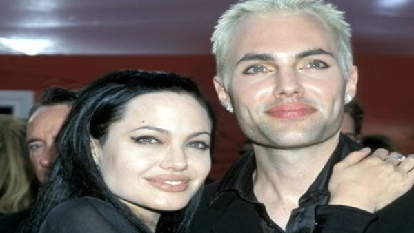 Angelina dating her brother