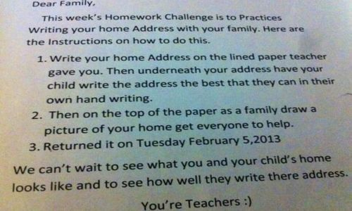 Arizona Teacher's Failed Homework Assignment
