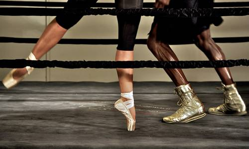 ballet boxing celebrities