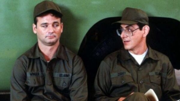 Bill Murray & Harold Ramis groundhog day