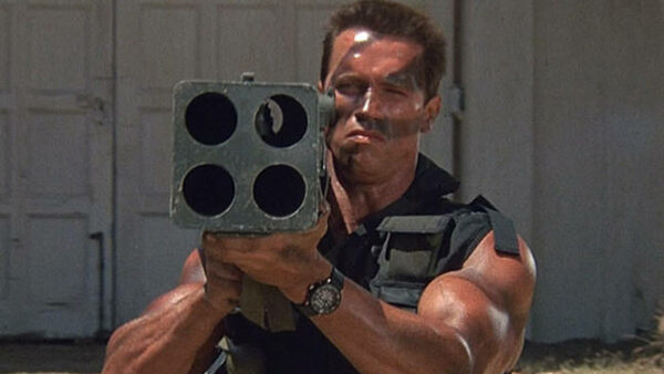 Commando 1985 Arnold Schwarzenegger Movie