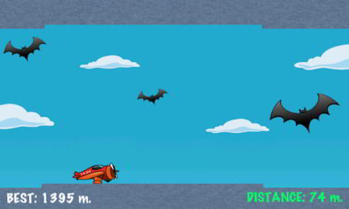 Another flappy clone flappy plane is only available for ios devices