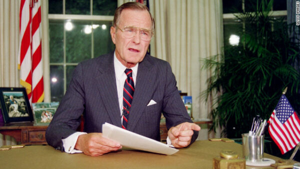 George H. W. Bush slams the Simpsons
