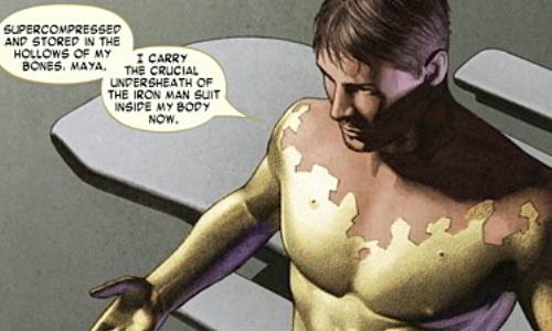 Iron Man Injects Himself with Extremis