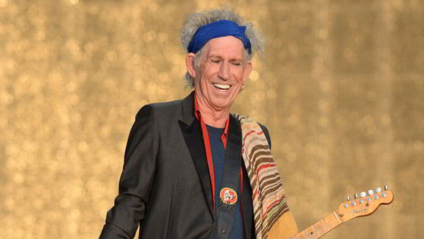 Keith Richards blood transfusion
