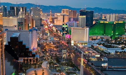celeb holidays in Las Vegas