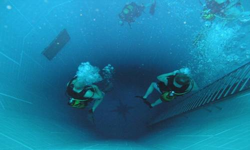 Nemo33 The Deepest Indoor Swimming Pool