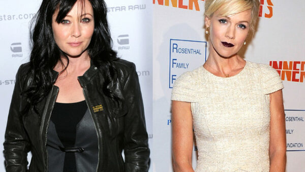 Shannen Doherty & Jennie Garth