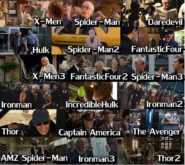 stan lee appearances in marvel movies