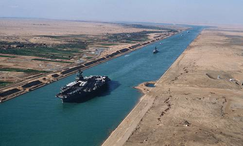 Suez Canal is one of the biggest canals