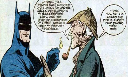 Batman Teamed with Sherlock Holmes