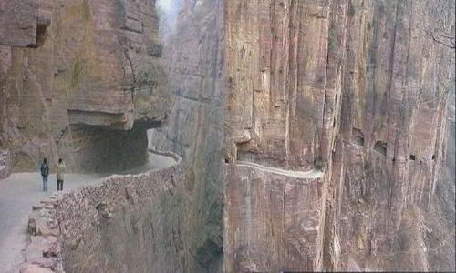 Dangerous Roads in China