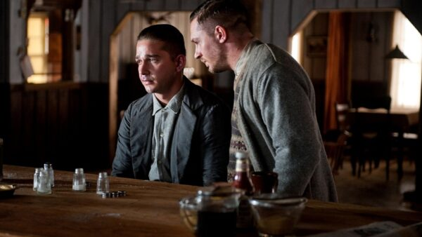 Tom Hardy and Shia LaBeouf lawless