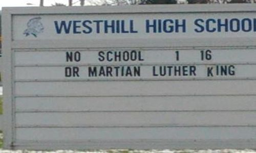 Westhill High School's Martian