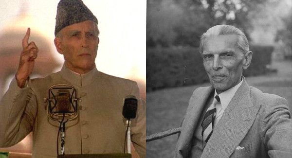 Christopher Lee As Muhammad Ali Jinnah