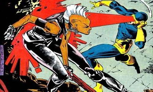 Cyclops and Storm Battle for X-Men Leadership