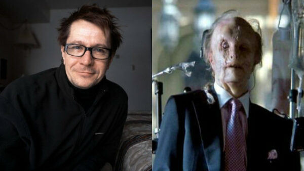 Gary Oldman as Mason Verger In 2001 Movie