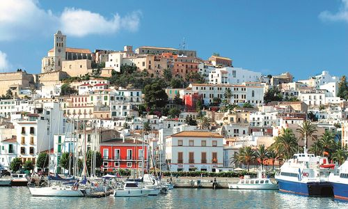celebrities holidays in Ibiza