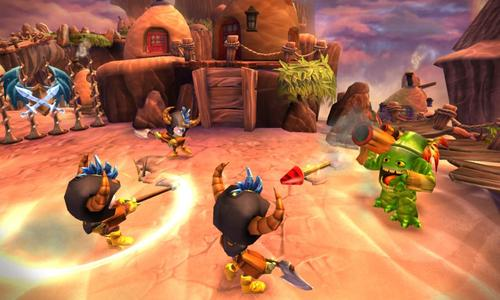 skylanders giants graphics review