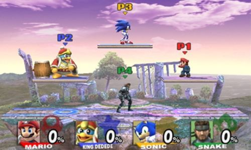 Super Smash Bros. Brawl nintendo wii