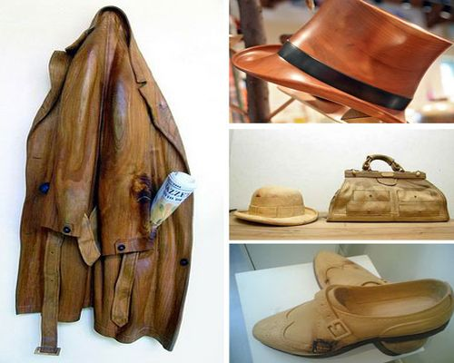 wooden clothes